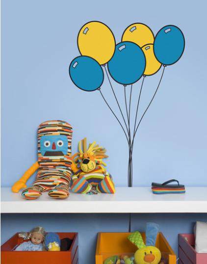 adesivos para quarto de criança