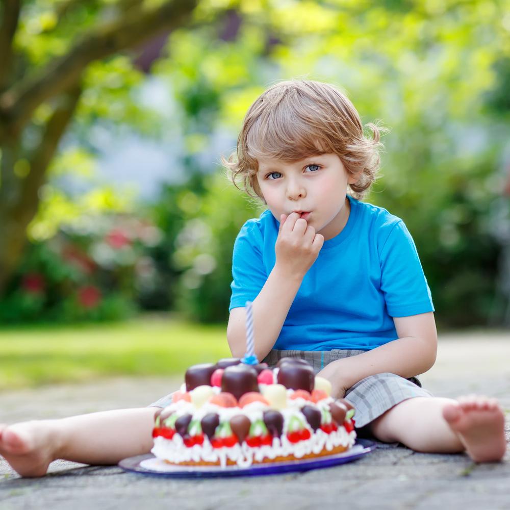 festa infantil saudável