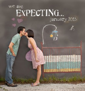 maneiras de anunciar a gravidez