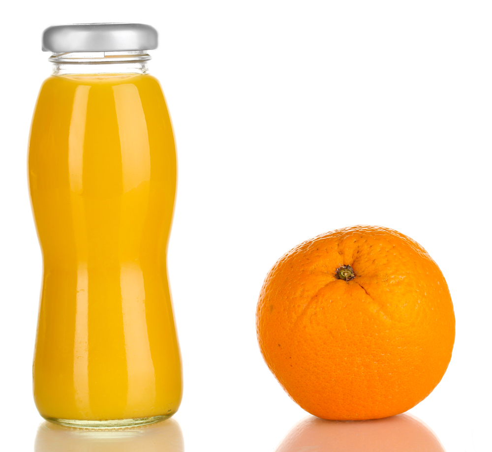 consumo de suco de frutas para crianças
