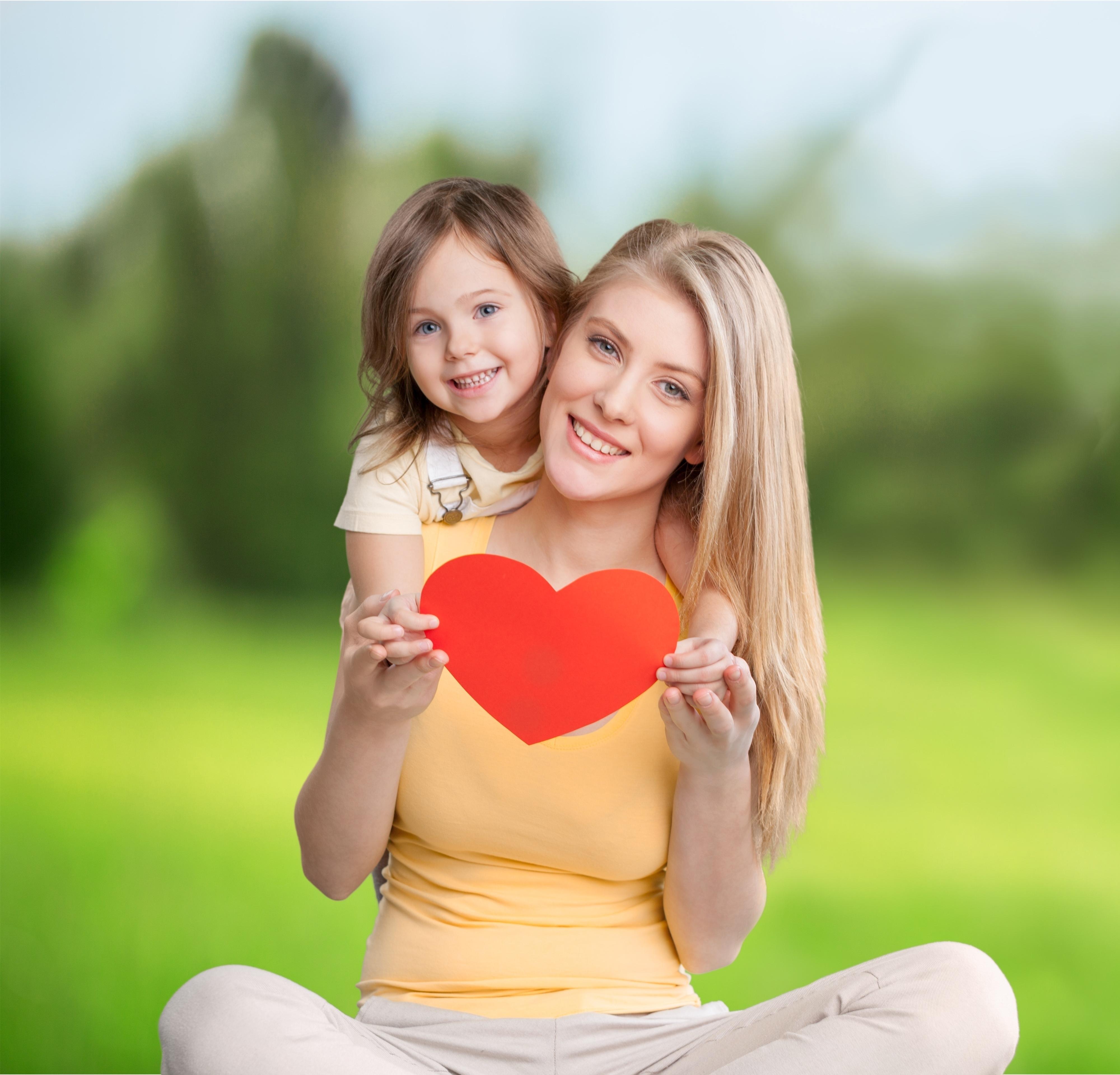 ensinar minha filha sobre o amor